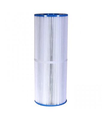 "Spa Filters: 100 Sq Ft Hot Tub Cartridge Filter, 6 9/16"" x 17 13/16"""