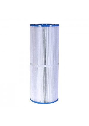 "Spa Filters: 100 Sq Ft Hot Tub Cartridge Filter, 6 9/16"" x 17 13/16"""