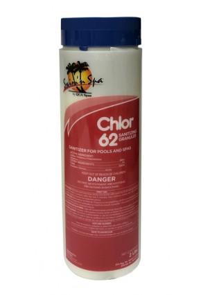 Swim N Spa Sanitizer & Shock: Chlor 62 (2 LB)
