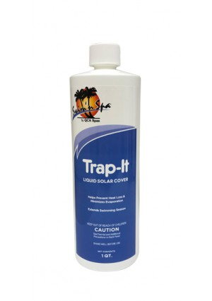 Swim N Spa Clarifiers: Trap-It Liquid Solar Cover (1 QT.)